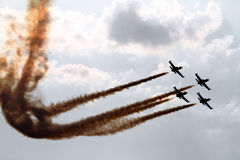 Jets Formation Royalty Free Stock Image