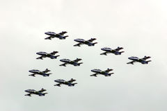Jets formation Royalty Free Stock Photo
