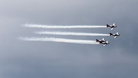 Jets formation Stock Photography
