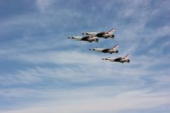 Jets in formation Royalty Free Stock Image