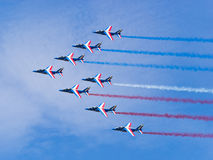Jets in Formation Stock Photography