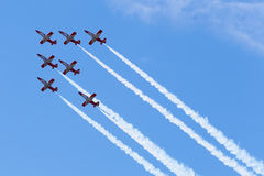 Jets formation Stock Photos