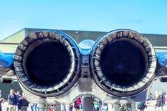 Jets gemelos Fotografía de archivo