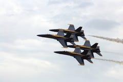 jets marinen Arkivbilder