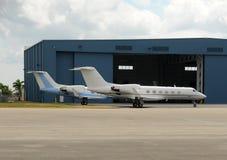 Jets privados Fotos de archivo