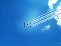 Free Jets Trail Royalty Free Stock Photo - 7182135