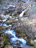 The Jets of the World River in Sierra de Alcaraz, Albacete. Andalusia. Spain Stock Images