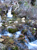 The Jets of the World River in Sierra de Alcaraz, Albacete. Andalusia. Spain Royalty Free Stock Photo