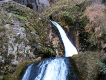 The Jets of the World River in Sierra de Alcaraz, Albacete. Royalty Free Stock Photos
