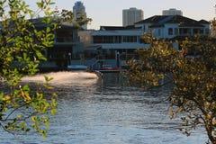 Jetski è un metodo di trasporto sulla Gold Coast Fotografia Stock Libera da Diritti