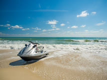 Jetski на пляже в Koh Samui Стоковые Фото