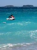 jetski островов Стоковое Фото