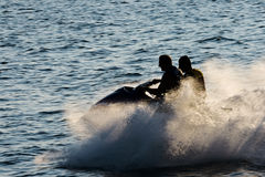 Jetski. Royalty Free Stock Photography