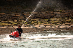 Jetski in action Royalty Free Stock Photos