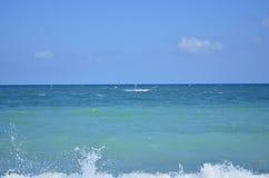 Jetski en el mar Foto de archivo libre de regalías