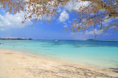 Jetski on Paradise Island beach Stock Photography