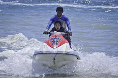 Jetski ride in Bali Royalty Free Stock Image