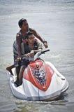 Jetski ride in Bali Royalty Free Stock Images