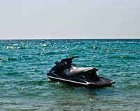 JetSki in the water . Stock Photo