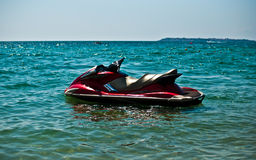 JetSki in the water . Stock Images