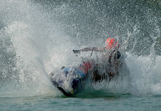 Jetski2. A jetski making splash Royalty Free Stock Image