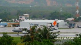Jetstar空客320加速 影视素材