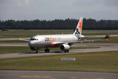 Jetstar Royalty Free Stock Photo