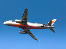 Jetstar Airbus A320 Royalty Free Stock Photography