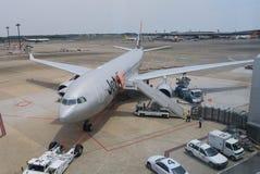 Jetstar airplane Stock Photo