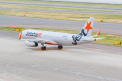 Jetstar Airways dans l'aéroport international Japon de Chubu Centrair Photographie stock
