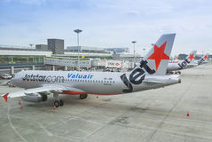 Jetstar Fleet Stock Images