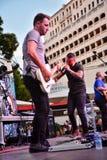 Jetstream в концерте Стоковые Фото