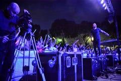 Jetstream в концерте Стоковое фото RF