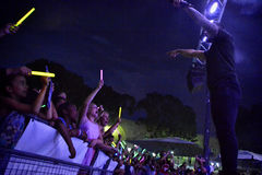 Jetstream в концерте Стоковая Фотография RF