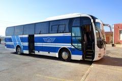 Jett the Jordanian touristic buses company Stock Images
