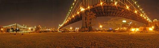 jette un pont sur New York Photographie stock libre de droits