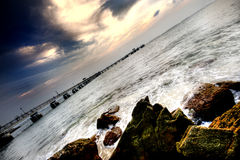 jetty Fotografia Royalty Free