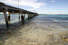Jetty. View of a south australian seascape Royalty Free Stock Image