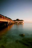 Jetty. Sunset at Perhentian Island's jetty Royalty Free Stock Image