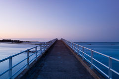 Jetty. Famous jetty in Roscoff in Brittany in France Stock Photography