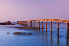 The jetty Royalty Free Stock Photography