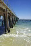 The Jetty. Port Rickaby jetty in South Australia Royalty Free Stock Photos