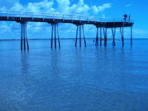 Jetty. In the town of Hervey Bay, Queensland, Australia Stock Photos