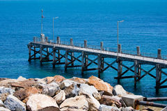 THE JETTY Stock Images