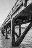The jetty of Arcachon, France. The jetty of Arcachon, in France Royalty Free Stock Photography