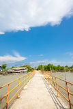 Jetty at Bagan Pasir, a fishing village Stock Photography