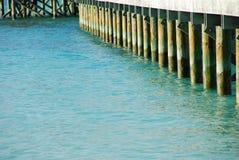 Jetty bridge Stock Photography
