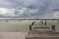 Jetty at burnham on crouch Royalty Free Stock Photos