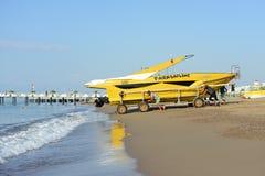 Jetty on the coast of Antalya Royalty Free Stock Photos