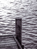 jetty czarny biel Obraz Royalty Free